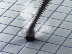 スチームクリーナー×重曹でエコ掃除(15)お風呂の床